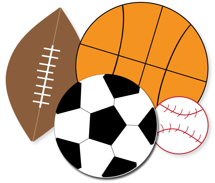 Sports clipart. Free