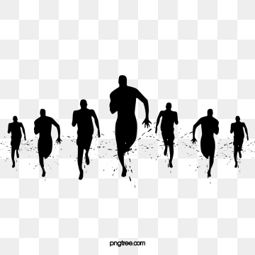 Sports clipart silhouette. Silhouettes png vector psd