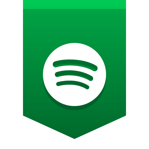 Social media buntings iconset. Spotify icon png