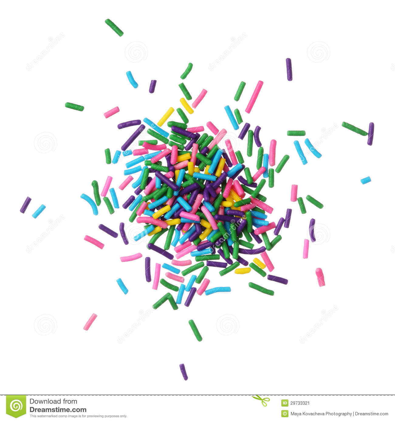 Candy . Sprinkles clipart