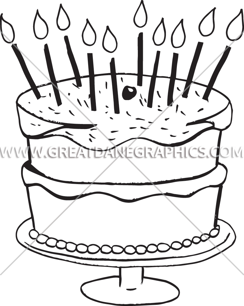 Birthday with production ready. Sprinkles clipart cake decorating