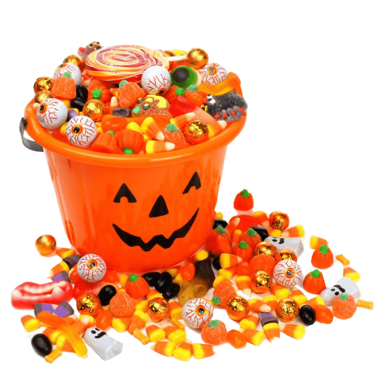 Sprinkles clipart candy. Candies halloween transparent png
