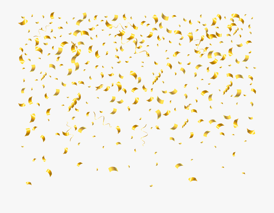 Streamers clipart sprinkle. Confetti transparent clip art