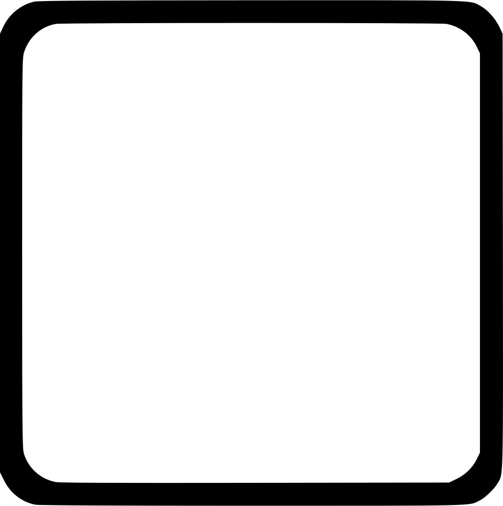 Ui element frame svg. Square border png