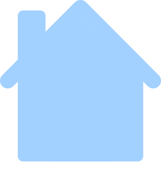 Square clipart blue square. House clip art at