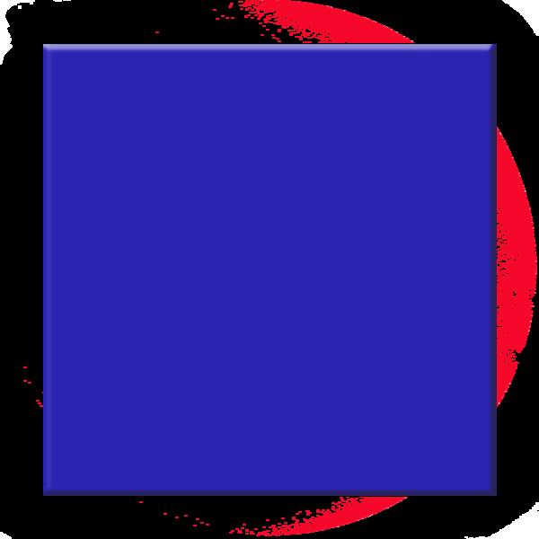 Transparent png pictures free. Square clipart blue square