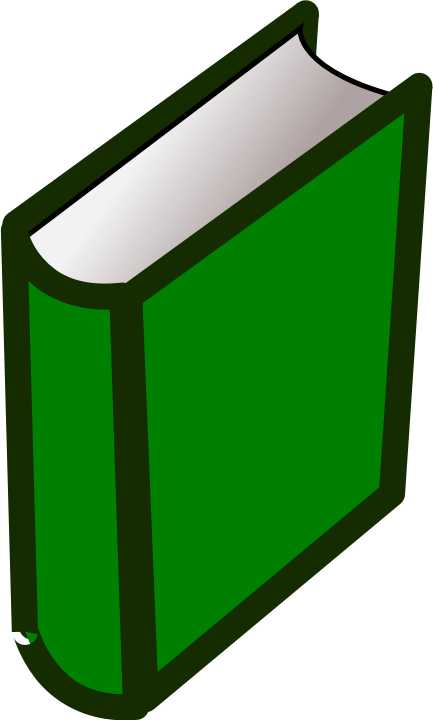 Square clipart book.  well designed for