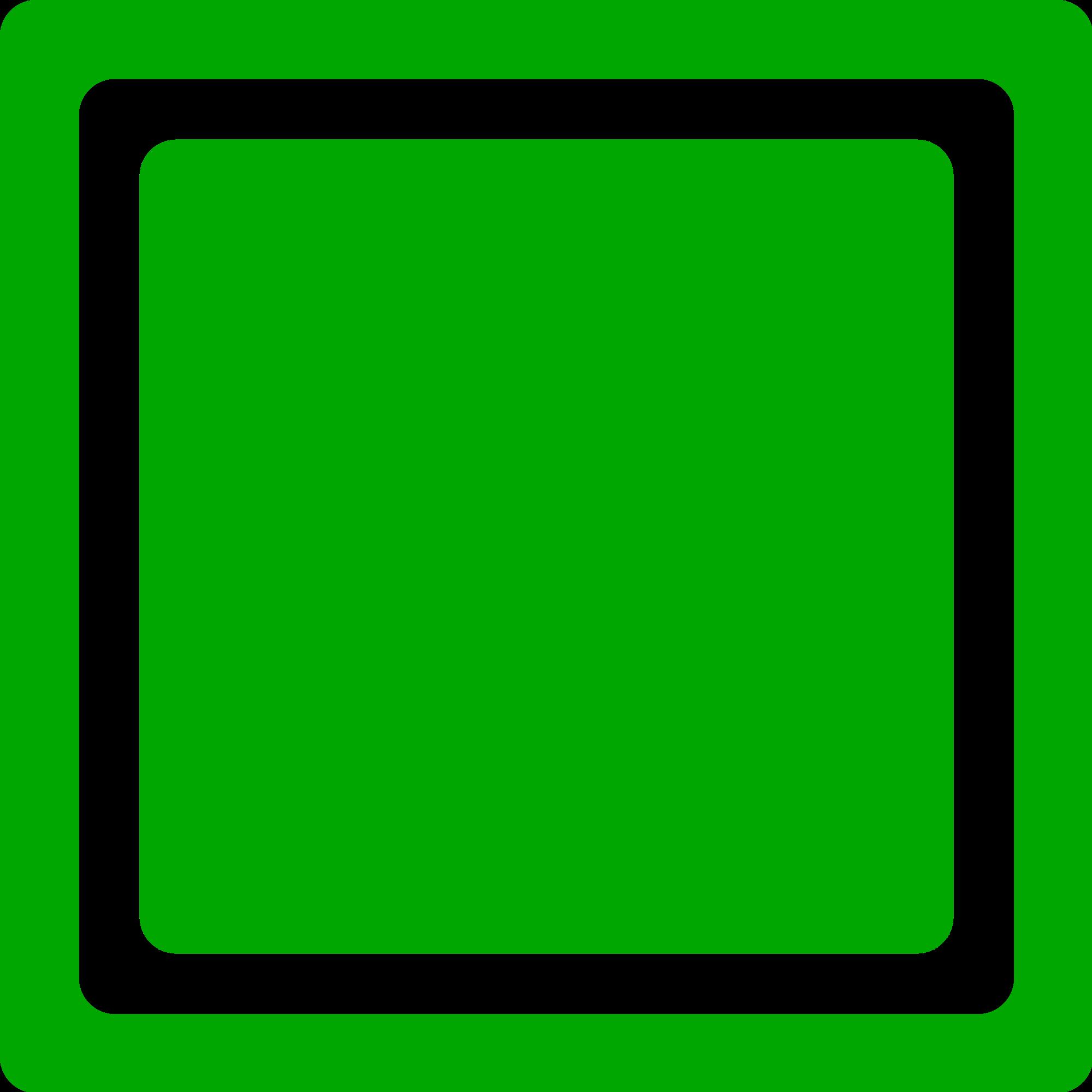 Square clipart bright. File green checkbox unchecked