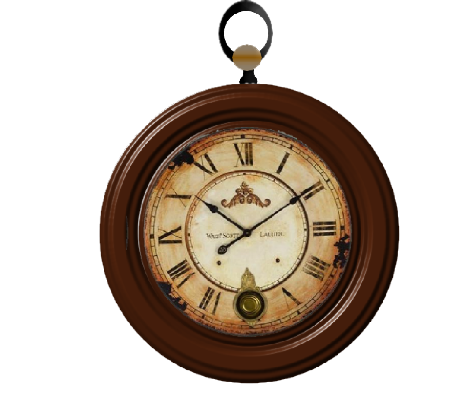 Square clipart brown clock. Transparent png pictures free
