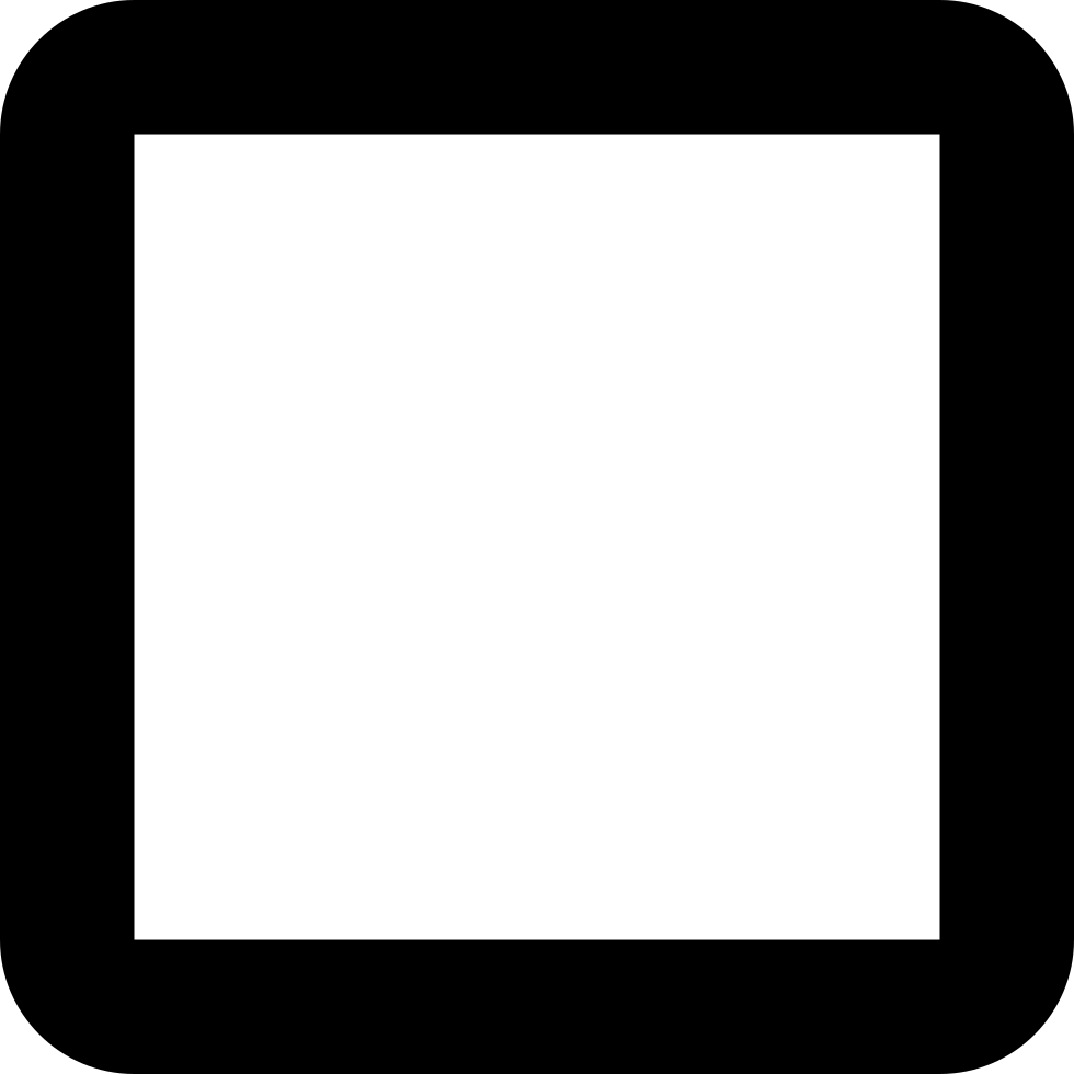 Square clipart check box. Checkbox unchecked svg png