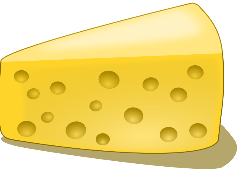 References numbers and words. Square clipart cheese