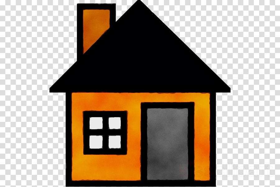 Square clipart clip art. Line house home