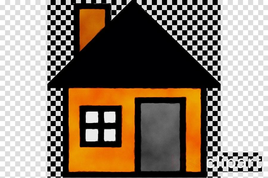Line house home . Square clipart clip art