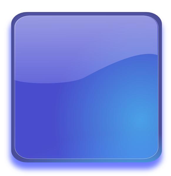 Aqua Blue Button Clip Art at Clker