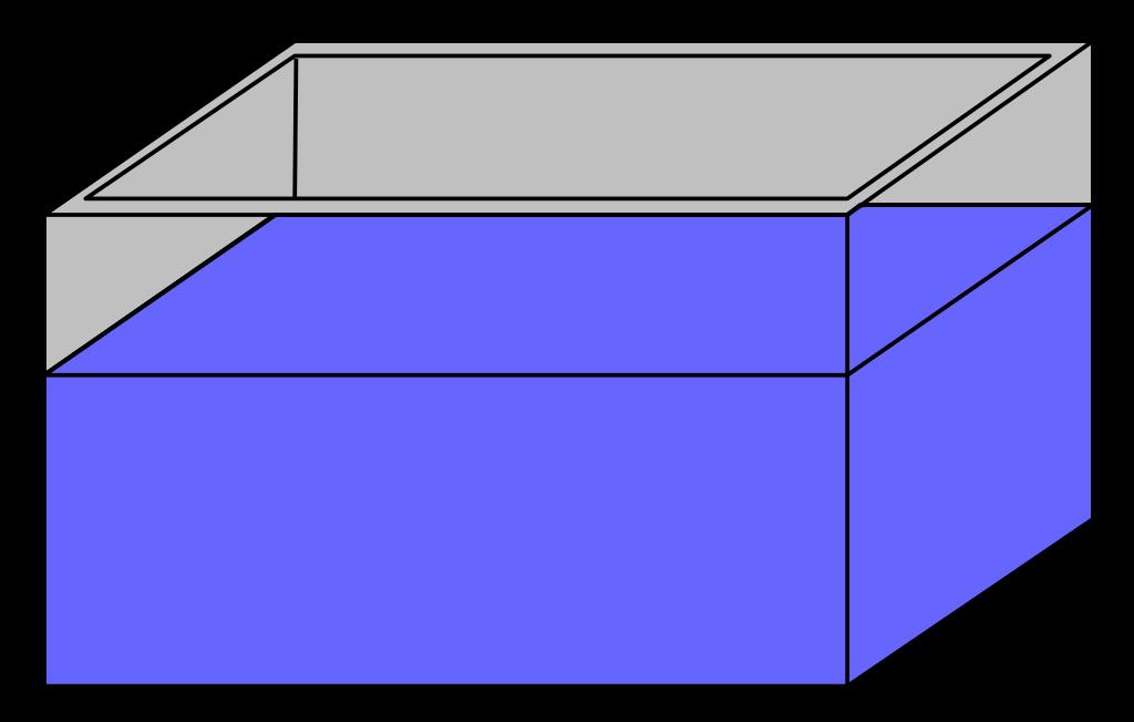 Square clipart empty. File aquarium svg wikimedia