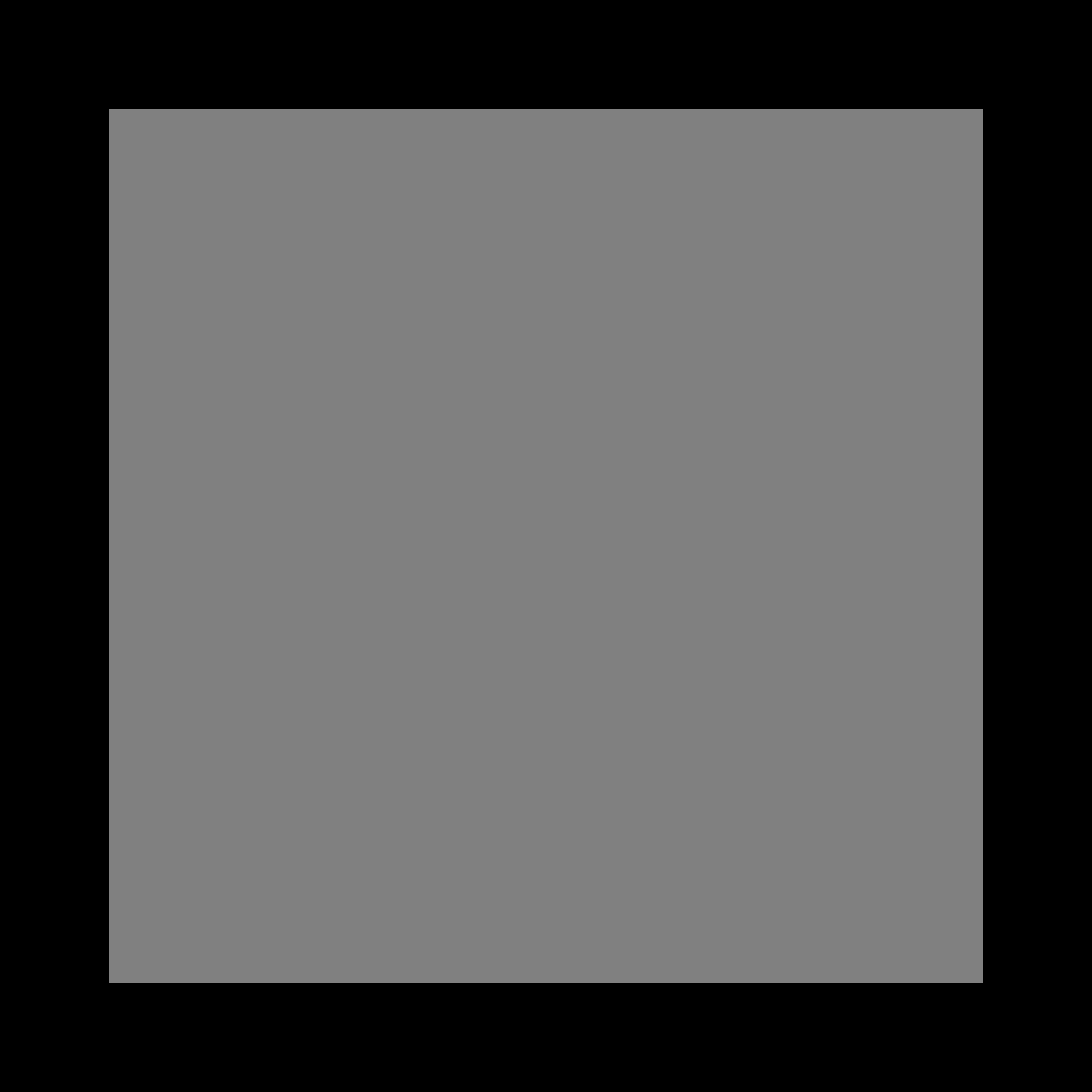transparent black square - 700×700