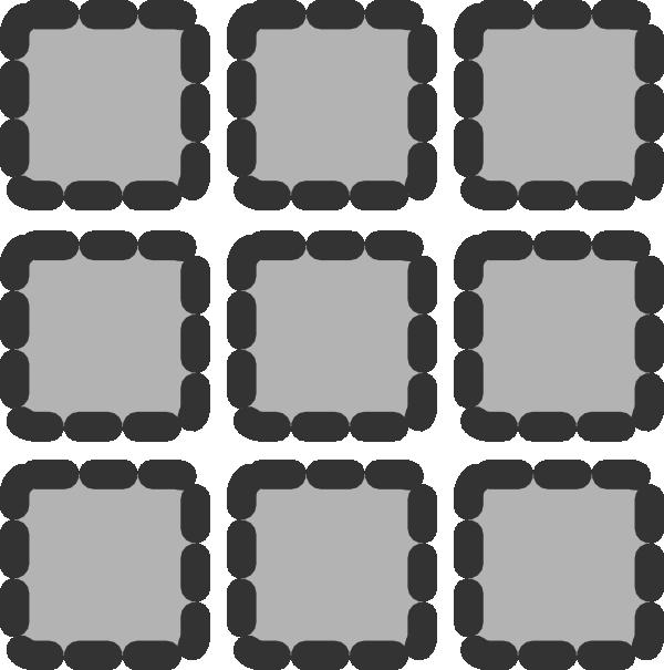 Square clipart grid. Matrix clip art at