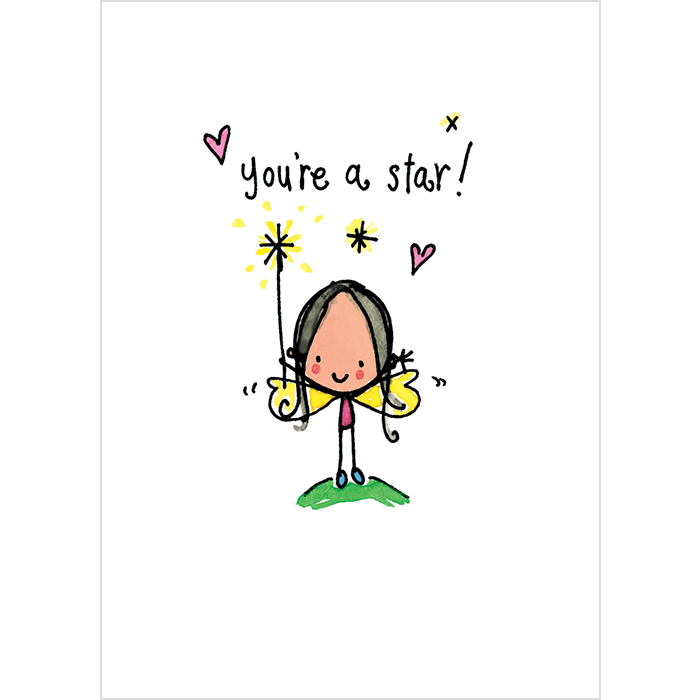 Square clipart happy. You re a star