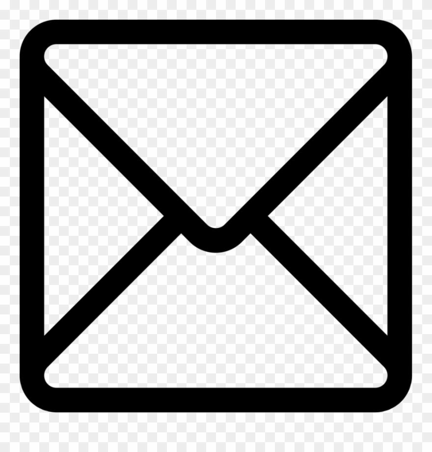 Envelope computer icons clip. Square clipart icon