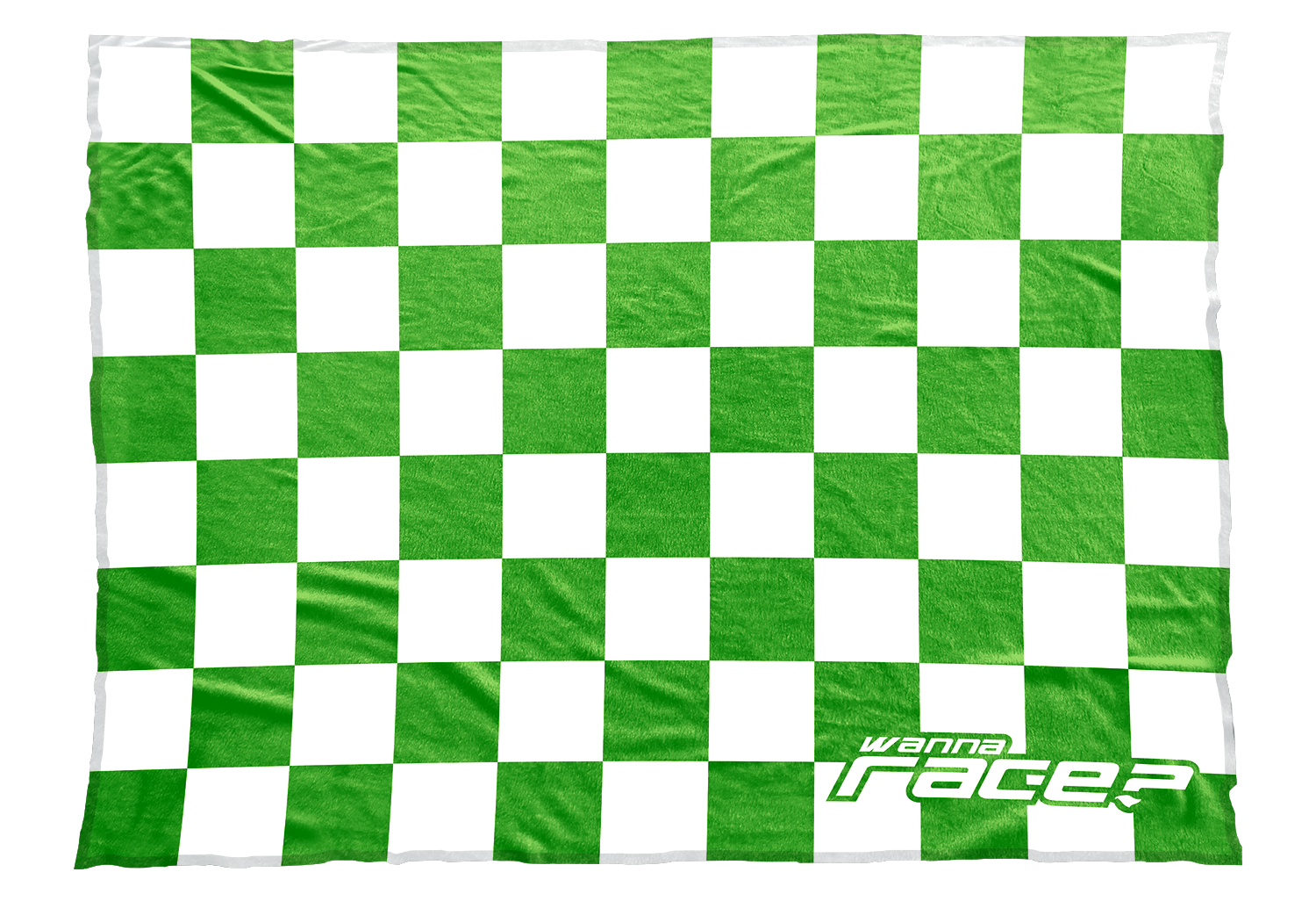 Wanna race blankets silky. Square clipart light green
