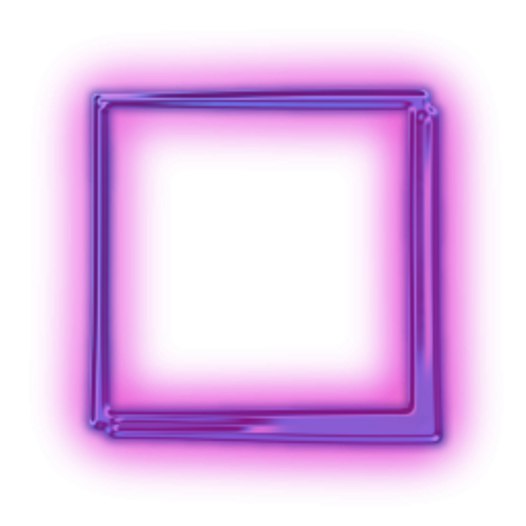 Box purplesquare freetoedit. Square clipart neon purple