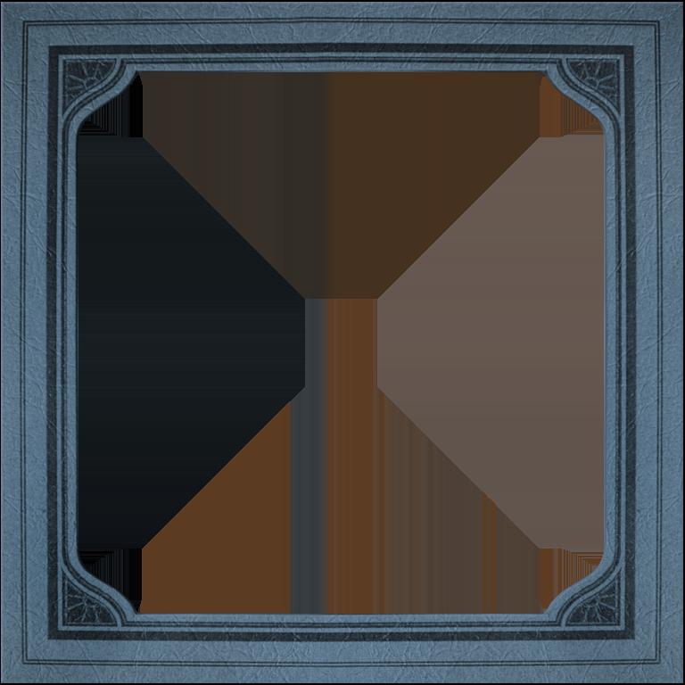 Presentation photo frames mat. Square clipart photograph border