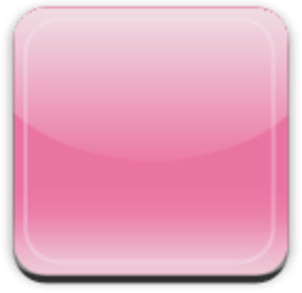 Square clipart pink square. Glass app button free