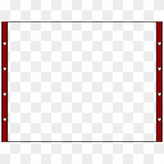 Red border clip art. Square clipart plain
