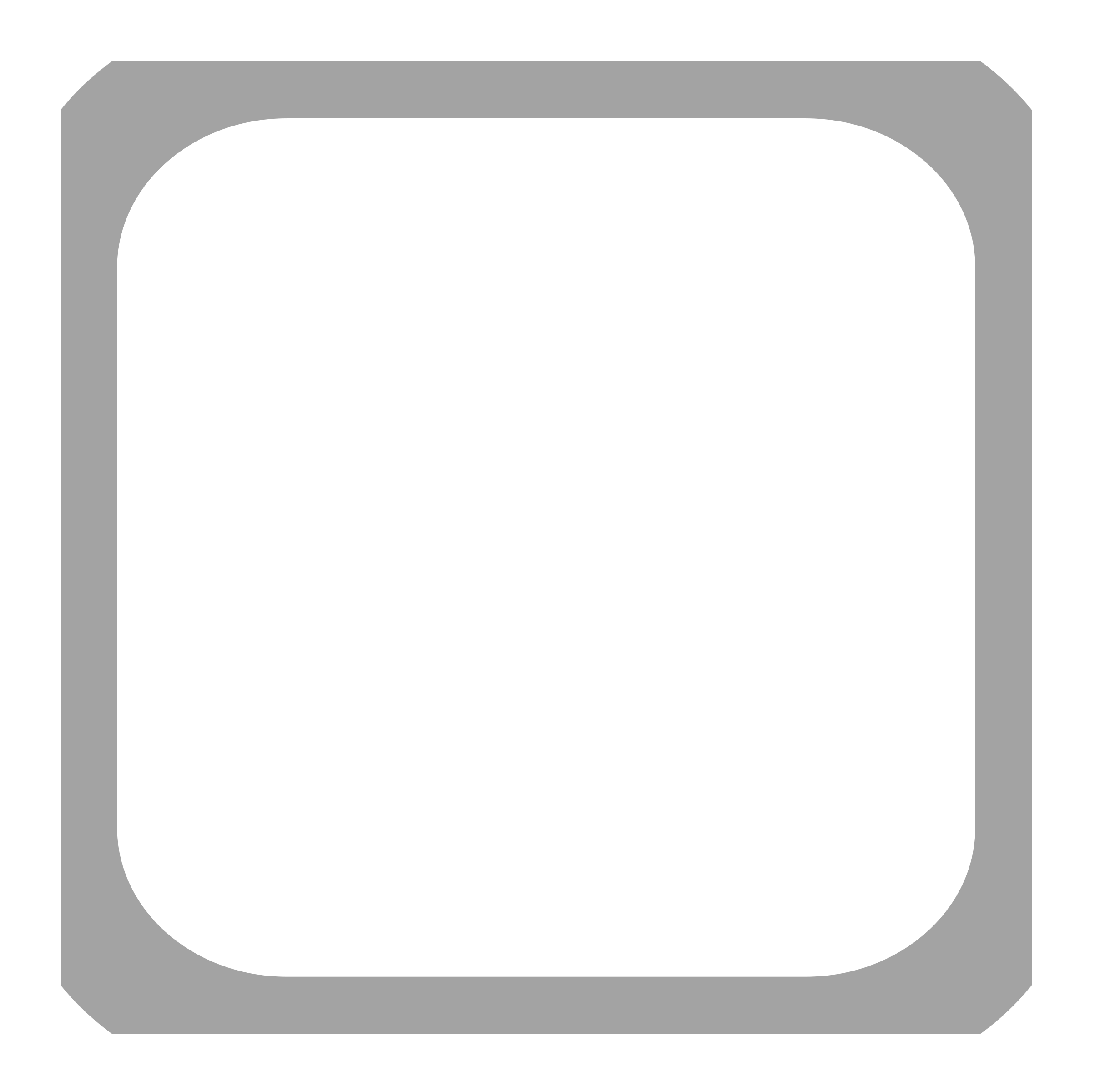 Square clipart plain. Checkbox unchecked disabled big