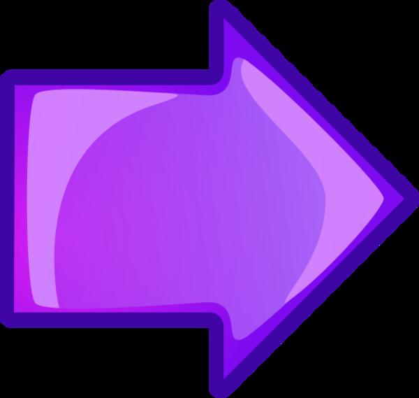 Square clipart purple. Image of right arrow
