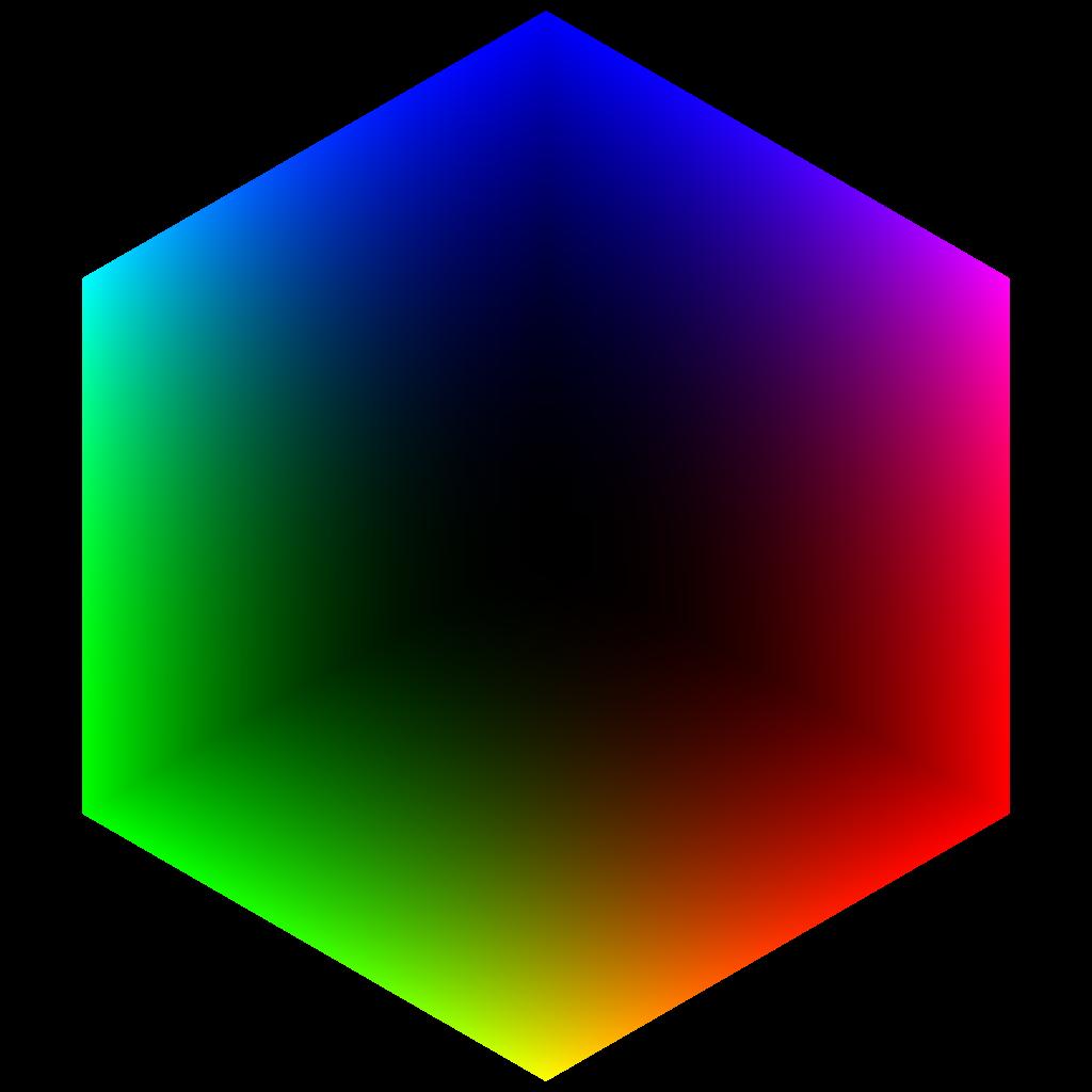 File colorcube corner black. Square clipart rgb