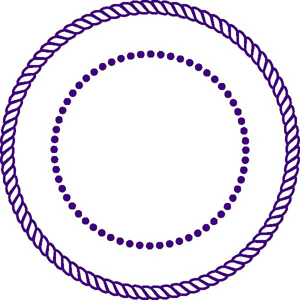Purple frame clip art. Square clipart rope