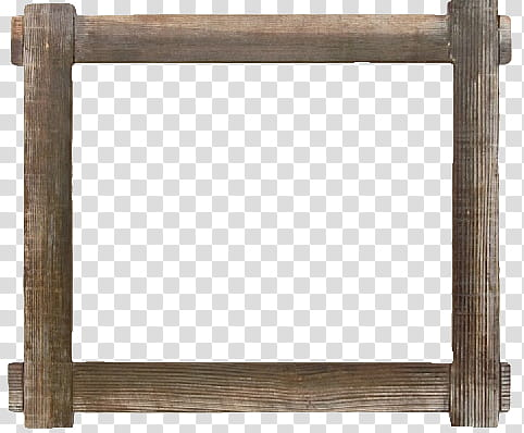 Square clipart rustic. Wood frames s brown