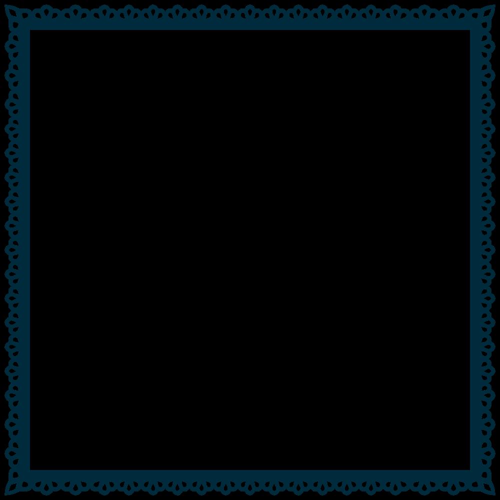 Onlinelabels clip art frame. Square clipart scallop