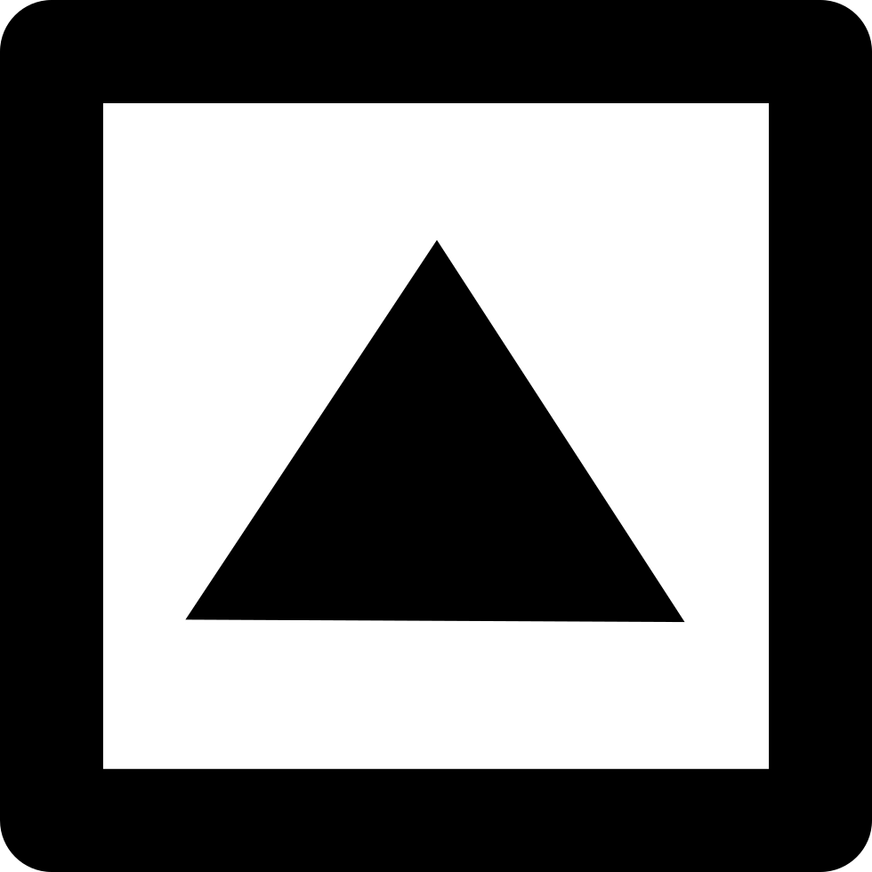 Square clipart shape person. Up arrow of triangular