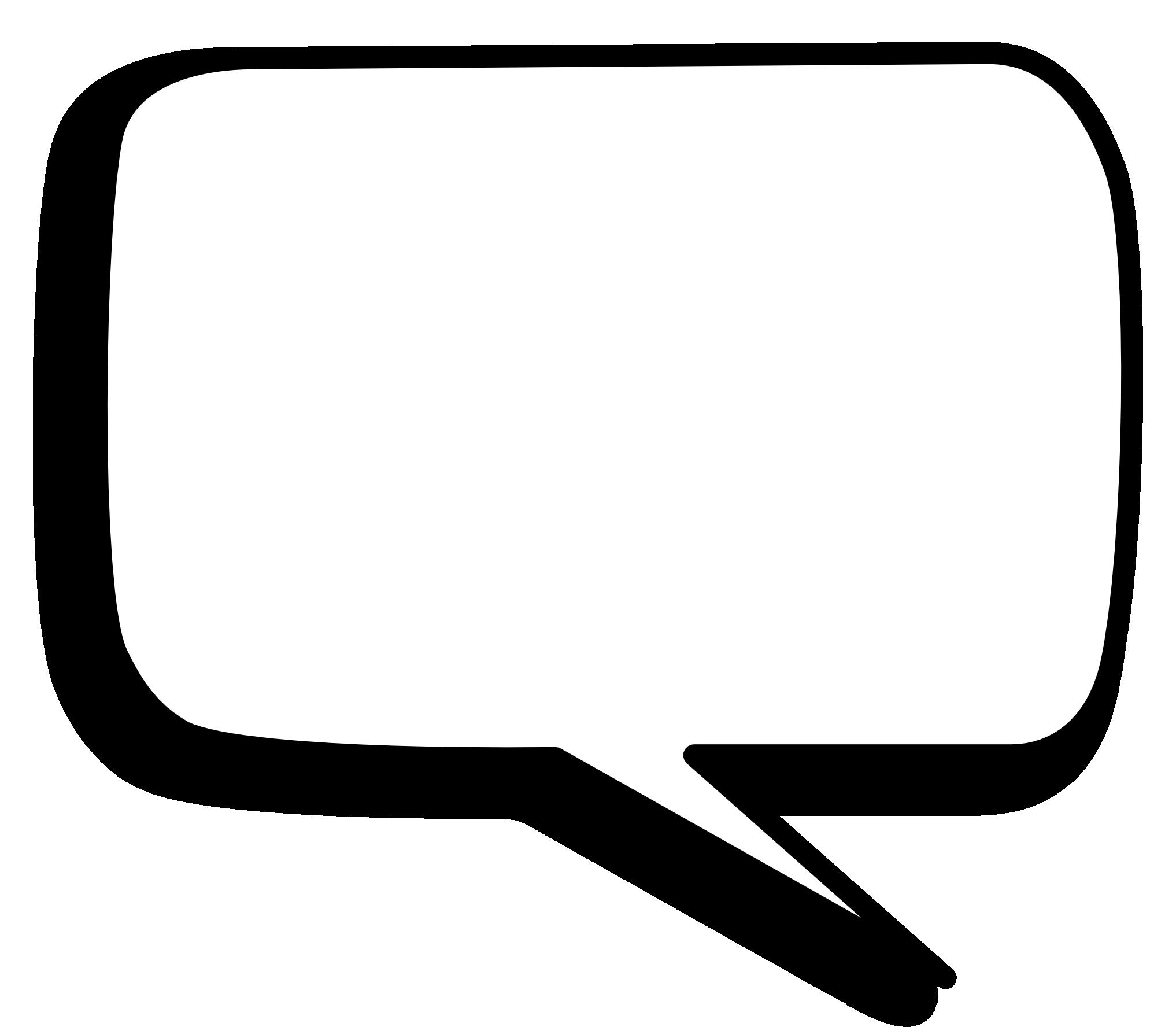 Png image pngpix . Square clipart speech bubble