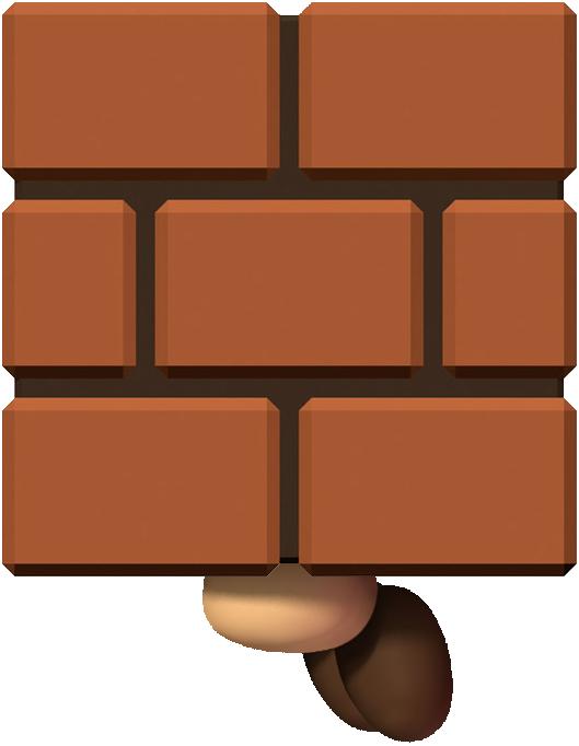 Image goomba mario wii. Square clipart square block