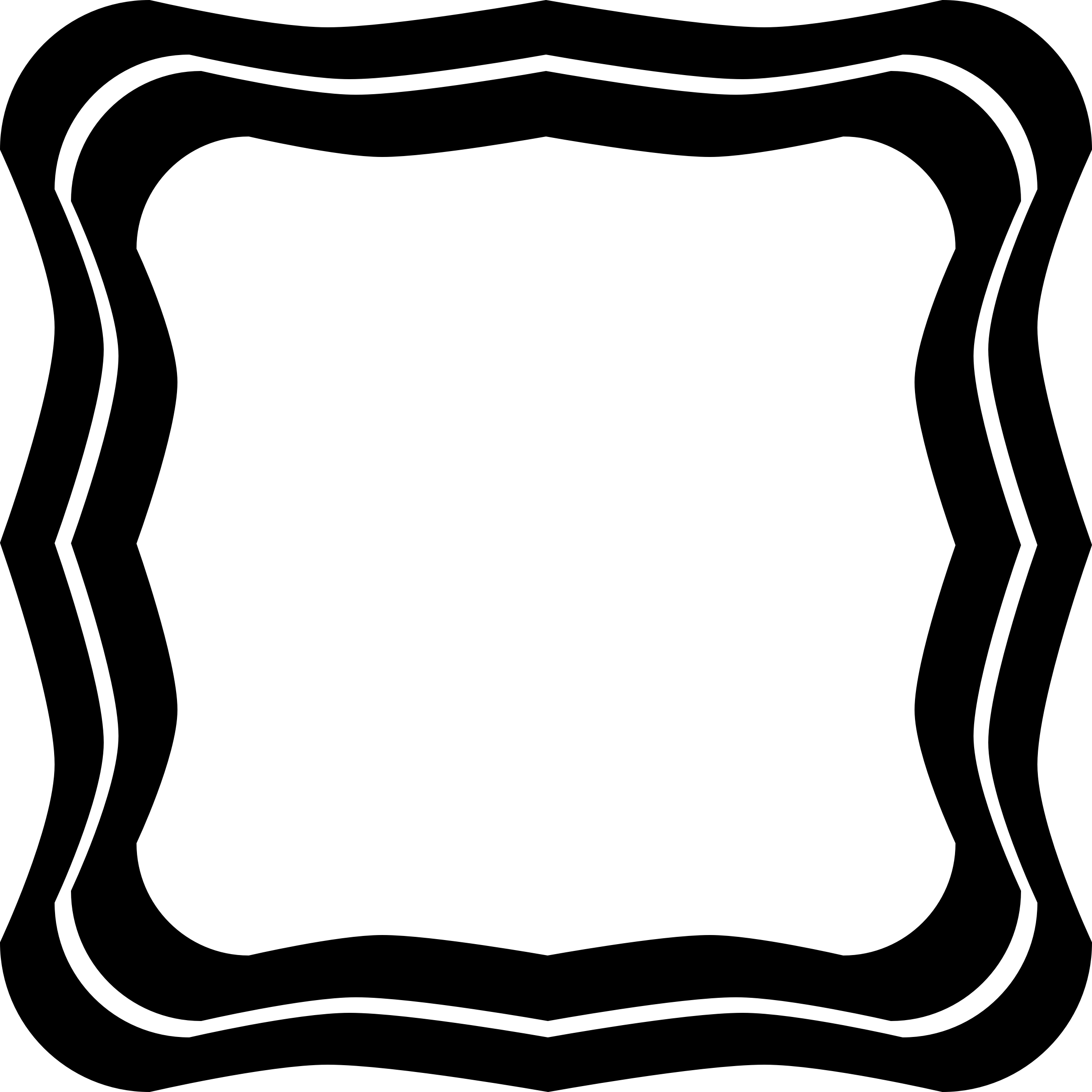 Squiggled big image png. Square clipart square frame