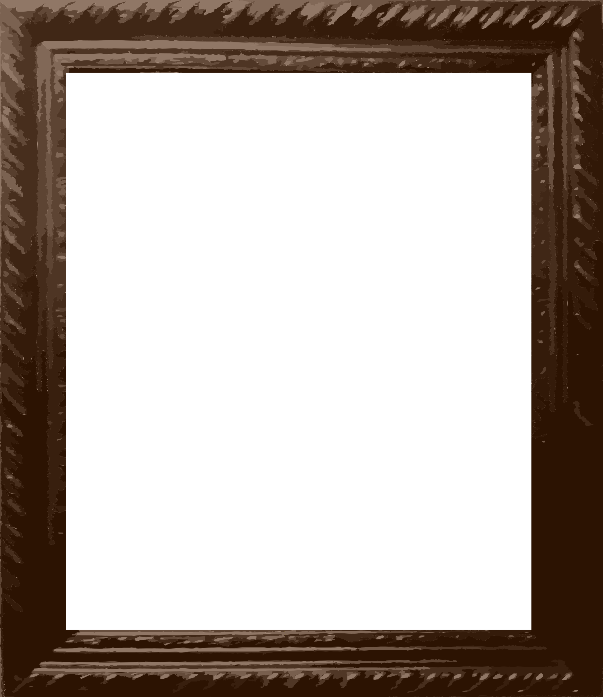 Photo frame big image. Square clipart square mirror