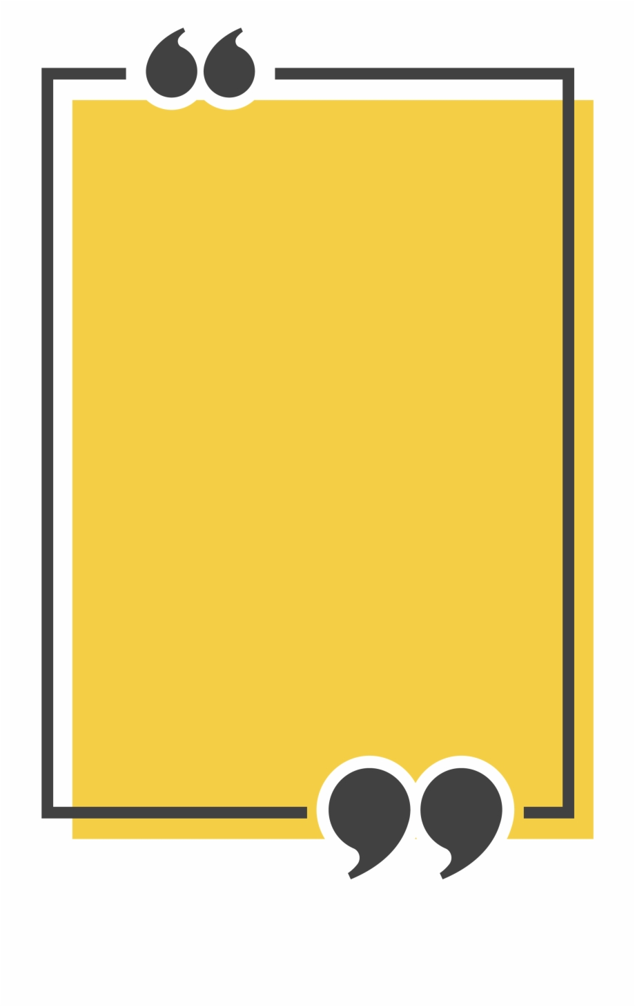 Rectangle yellow computer icons. Square clipart square text box