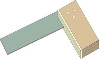 Clip art image . Square clipart tri