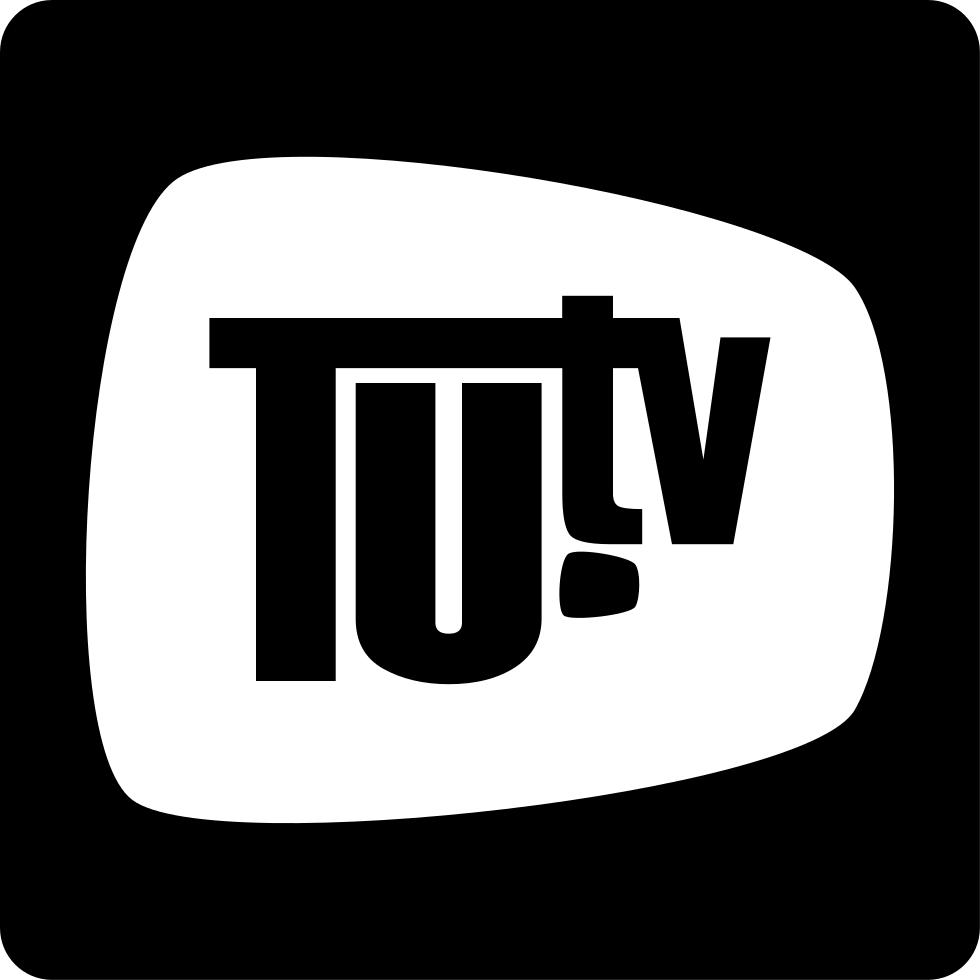 Square clipart tv logo. Tu svg png icon