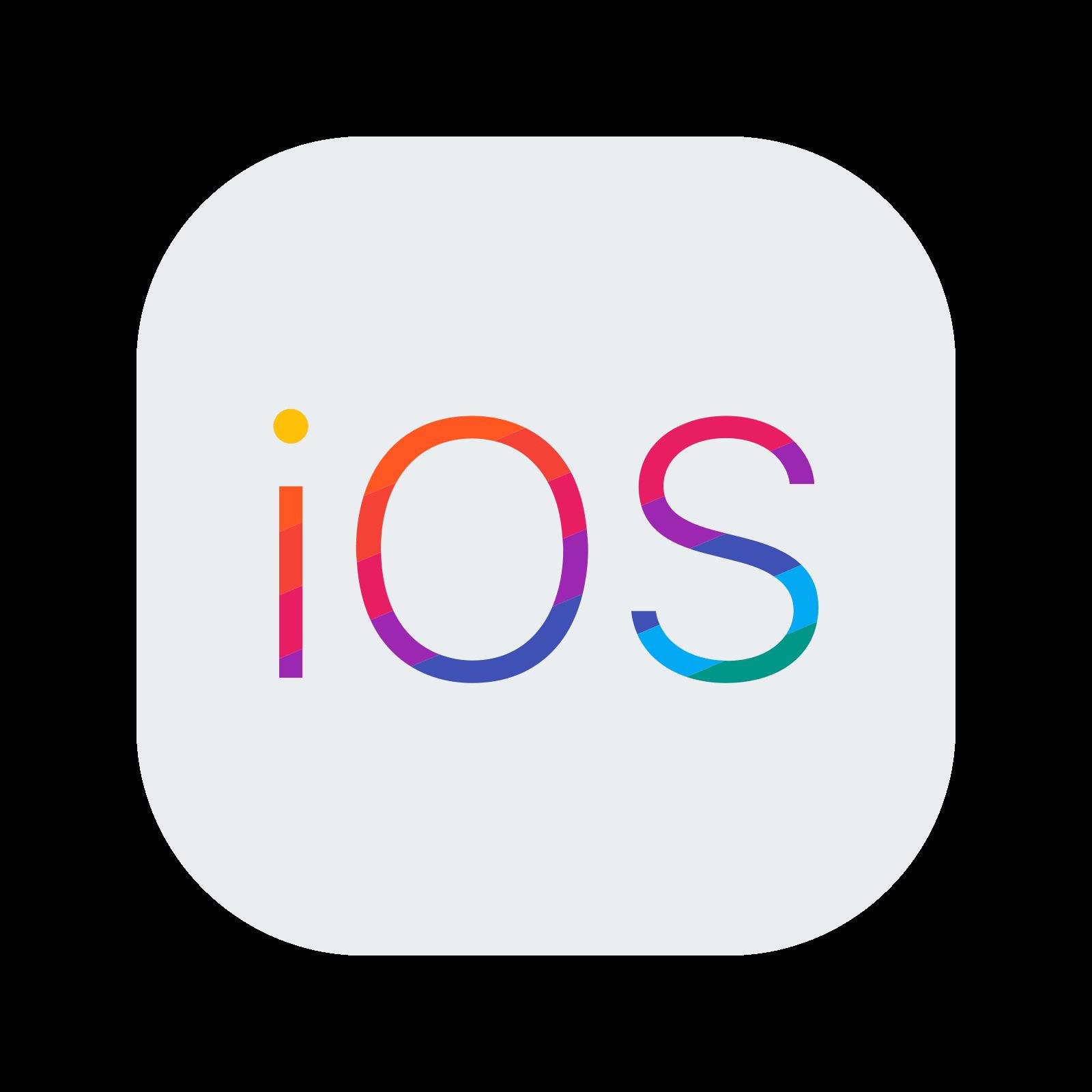 iOS Logo Icono