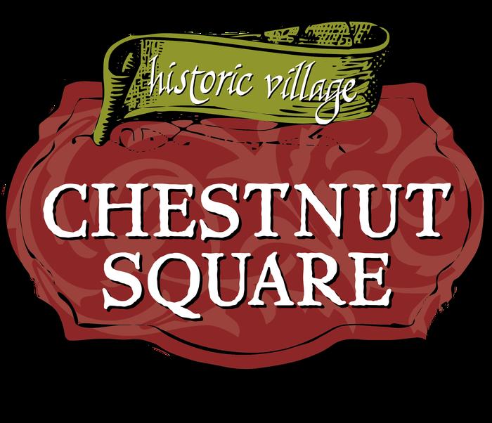Chestnut historic smore newsletters. Square clipart village square