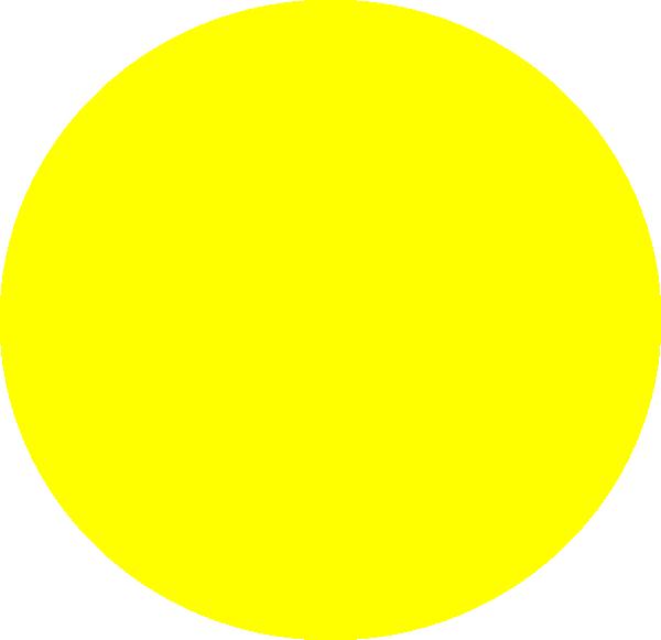 Square clipart yello. Yellow circle clip art