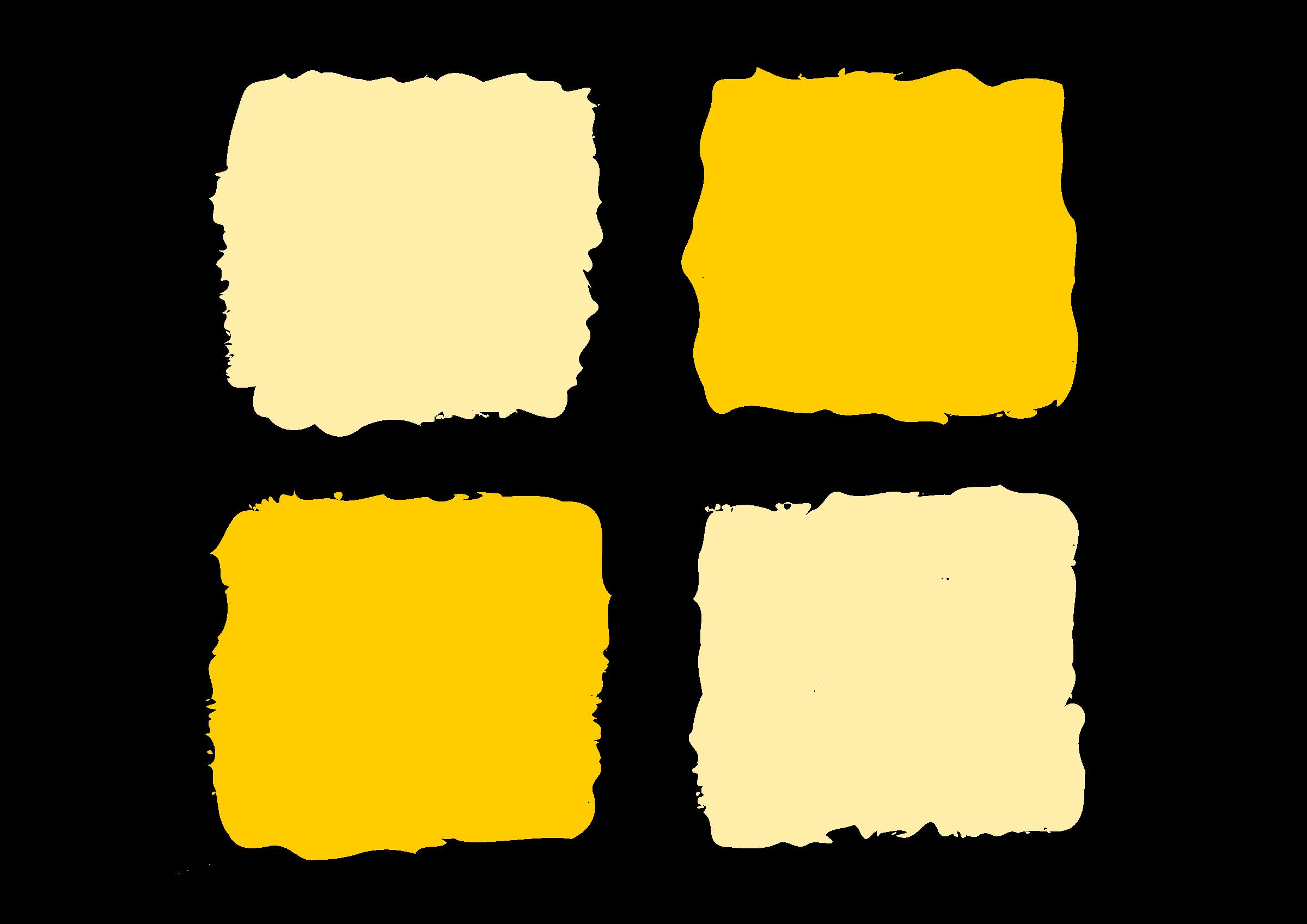 Square clipart yello. Yellow squares big image