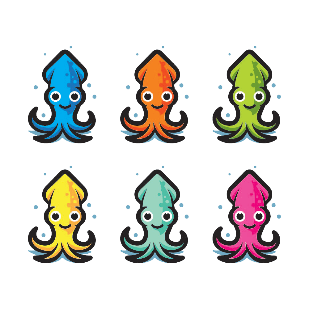 Squid clipart deep sea creature. Revolution from my bed