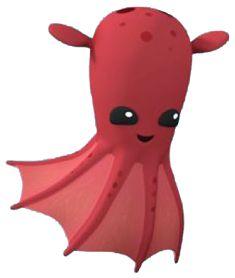 Squid clipart octonauts. Free download clip art