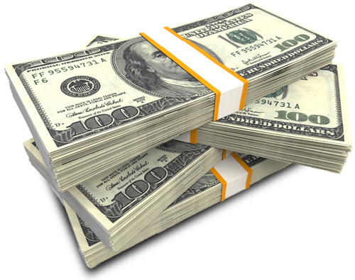 cash stacks for. Stack of money png