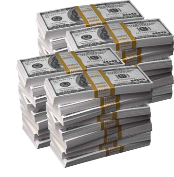 Cash psd official psds. Stacks of money png